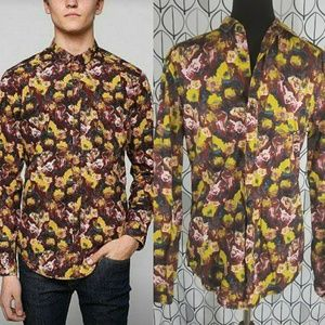 Your Neighbors Latour Floral Button down Shirt- UO